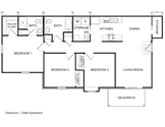 Bluff Apartments Floorplan 2