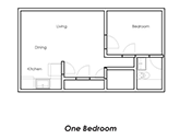 Brightwaters Apartments Floorplan 1