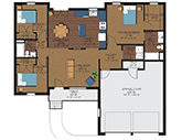 Brookside Terrace Floorplan 1