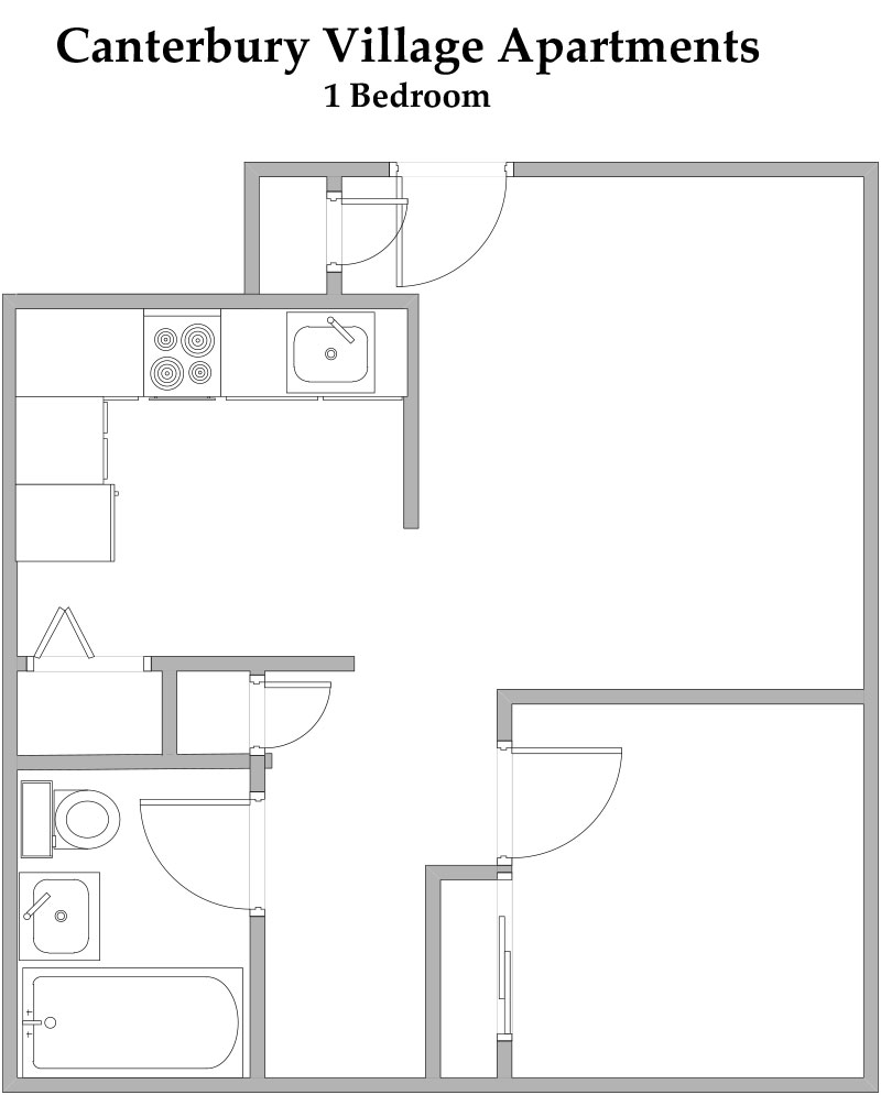 Canterbury Village Floorplan 1