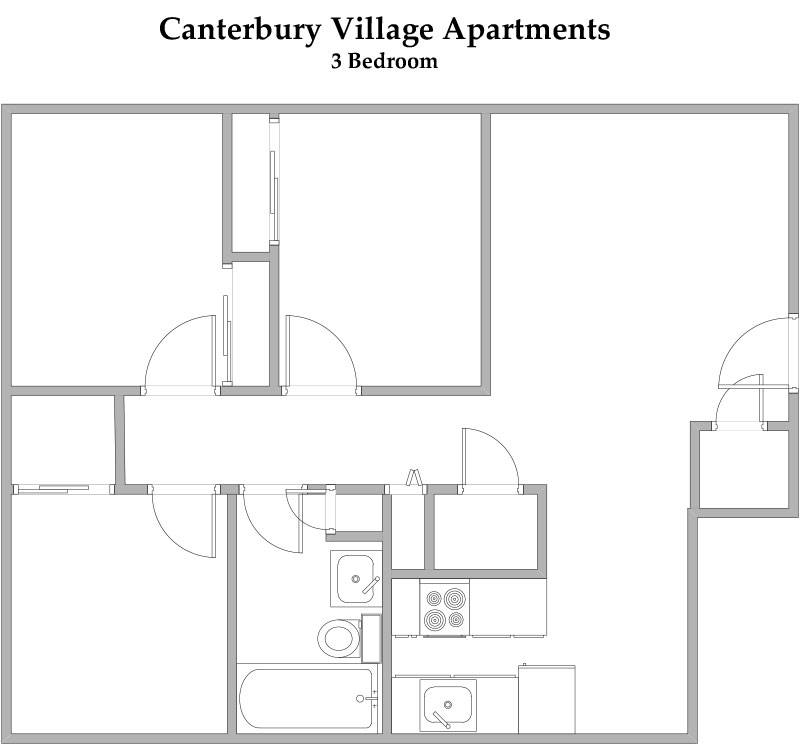 Canterbury Village Floorplan 2