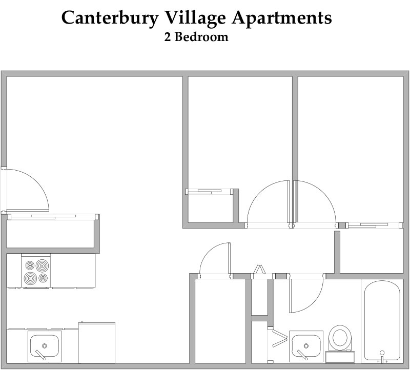 Canterbury Village Floorplan 3