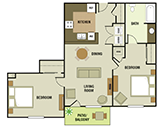 Center Point Floorplan 4