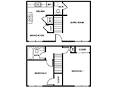 Chandler Pointe Floorplan 2