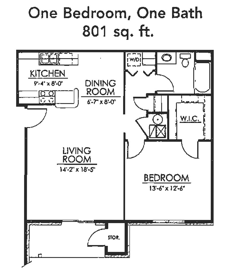 One Bedroom Apartments Iowa City: Apartments In Council Bluffs, IA
