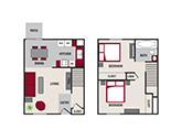 Featherstone Apartments Floorplan 2