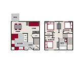 Featherstone Apartments Floorplan 3