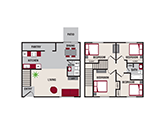 Featherstone Apartments Floorplan 4