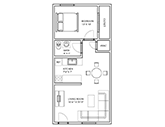 Maple Second Floorplan 1