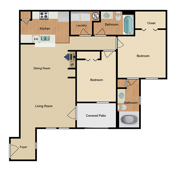 Marbella Bay Floorplan 2