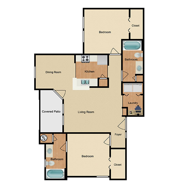 Marbella Bay Floorplan 3