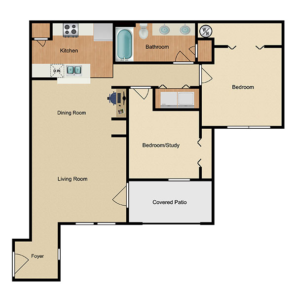 Marbella Bay Floorplan 4
