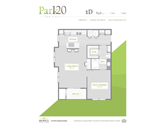 Park 120 at Oak Hills Floorplan 1
