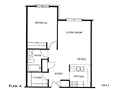 Realife of Columbus Floorplan 1