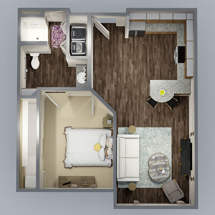 The Residence at Wolfforth Floorplan 1