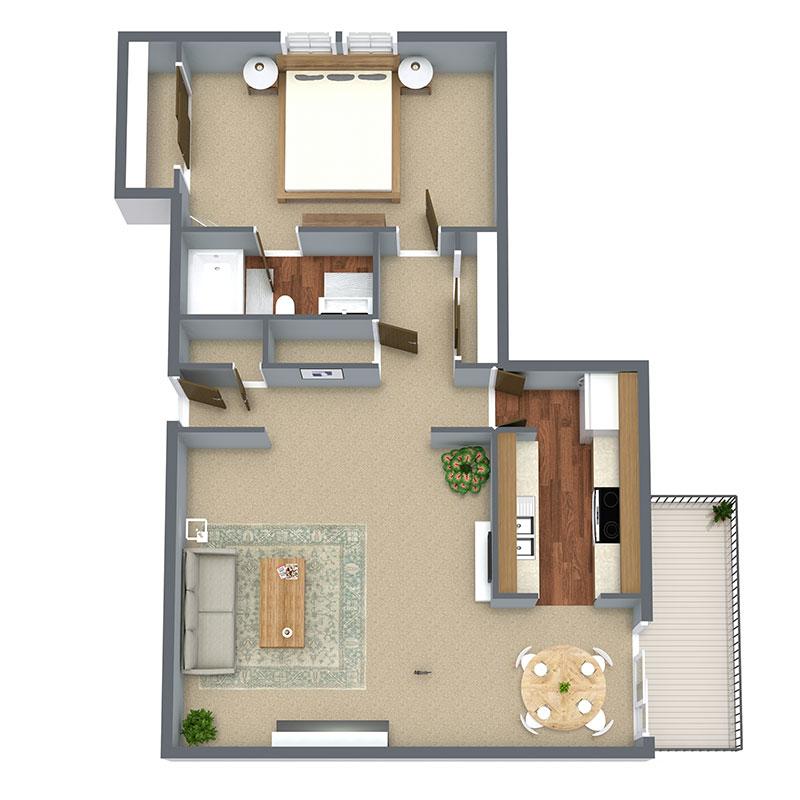 Tara Villas On The Green Floorplan 1