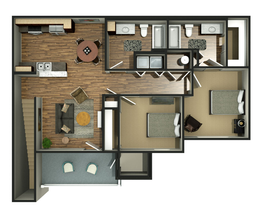The Reserves at High Plains Floorplan 2