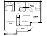 The Reserves at Summit West Floorplan 2