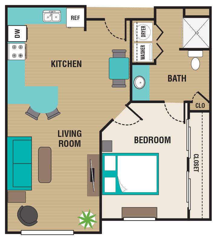 The Residence At Yukon Hills Floorplan 1
