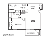 West Garfield Place Floorplan 1