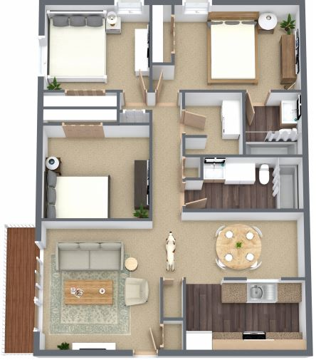Jasper Place Floorplan 1