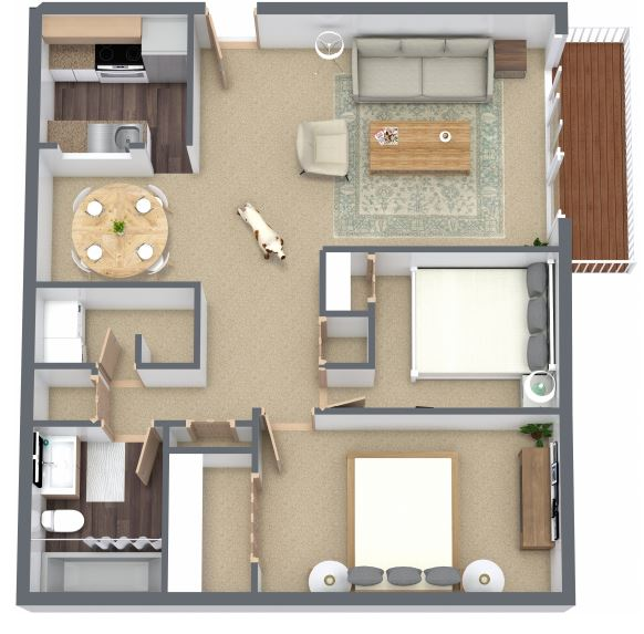Jasper Place Floorplan 3