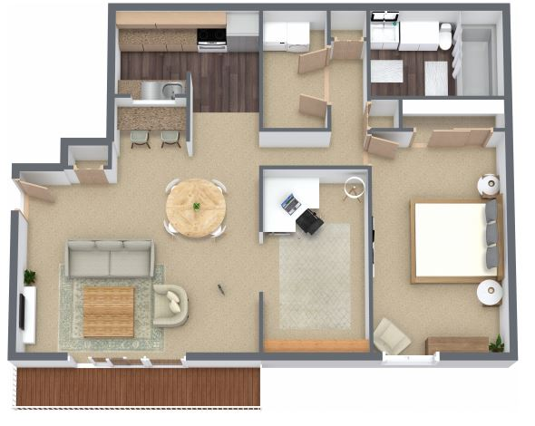 Jasper Place Floorplan 4