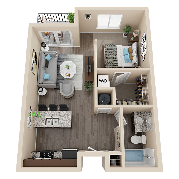 Latitude 41 Floorplan 1