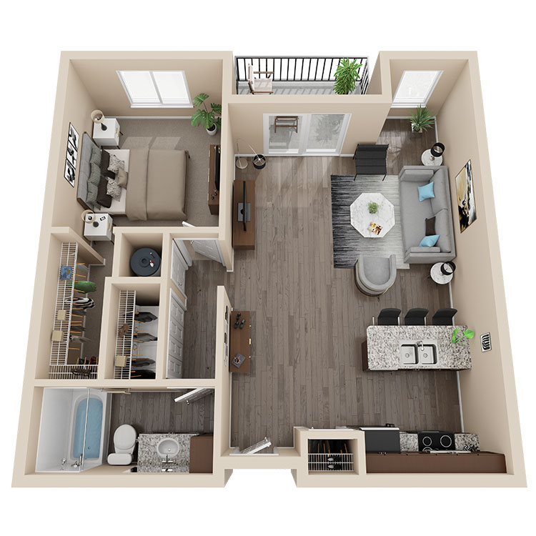 Latitude 41 Floorplan 2