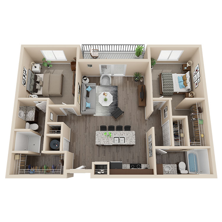Latitude 41 Floorplan 3