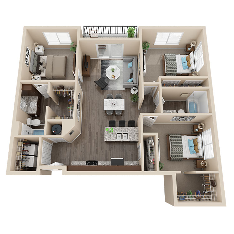 Latitude 41 Floorplan 4