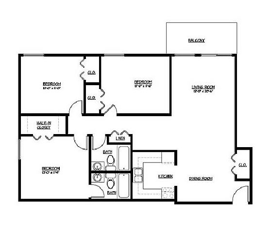 Onyx at Aksarben Floorplan 3
