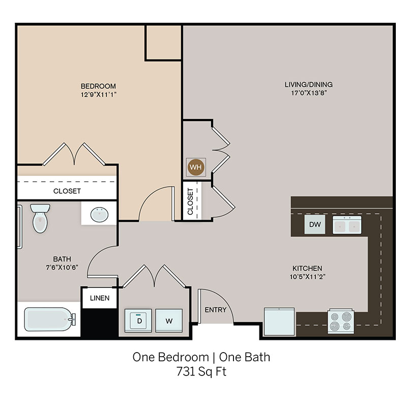 Spring Hill  Floorplan 1