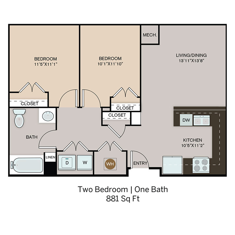 Spring Hill  Floorplan 2