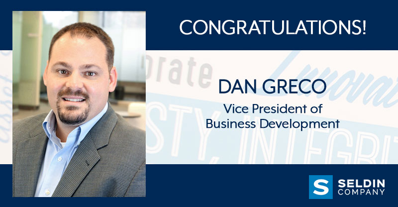 CONGRATULATIONS TO DAN GRECO
