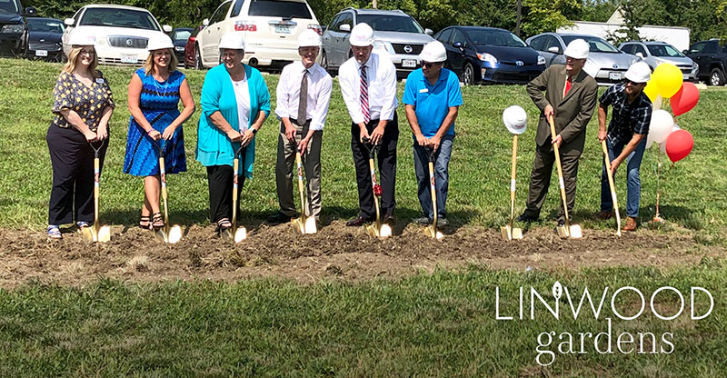 PRAIRIE FIRE DEVELOPMENT GROUP HOLDS GROUNDBREAKING FOR LINWOOD GARDENS
