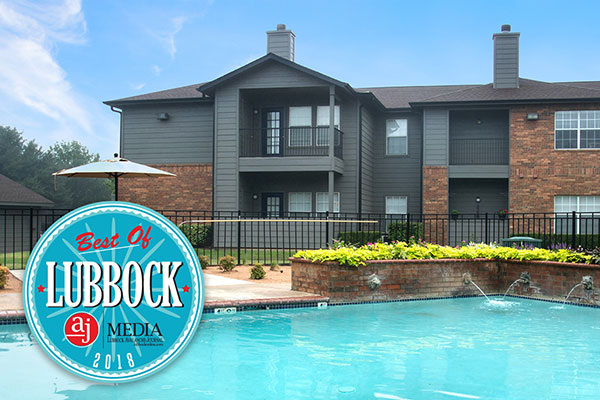 THE WYNDHAM APARTMENTS WINS BEST OF LUBBOCK AWARD