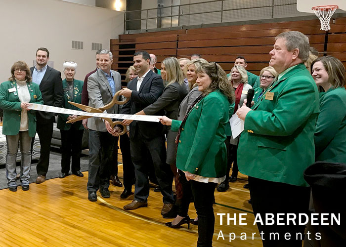 ABERDEEN APARTMENTS HOLDS RIBBON CUTTING