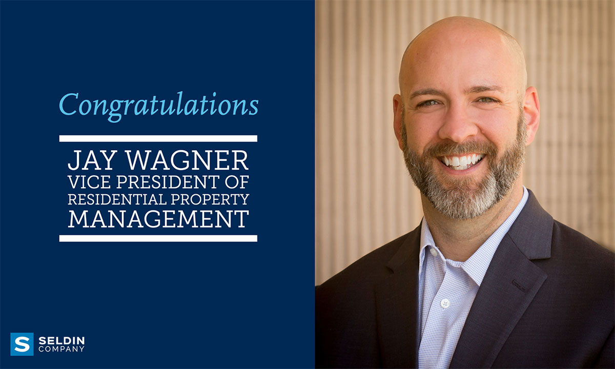 JAY WAGNER PROMOTED TO VP OF RESIDENTIAL PROPERTY MANAGEMENT