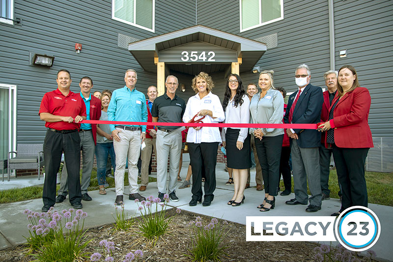 LEGACY 23 HOLDS RIBBON CUTTING