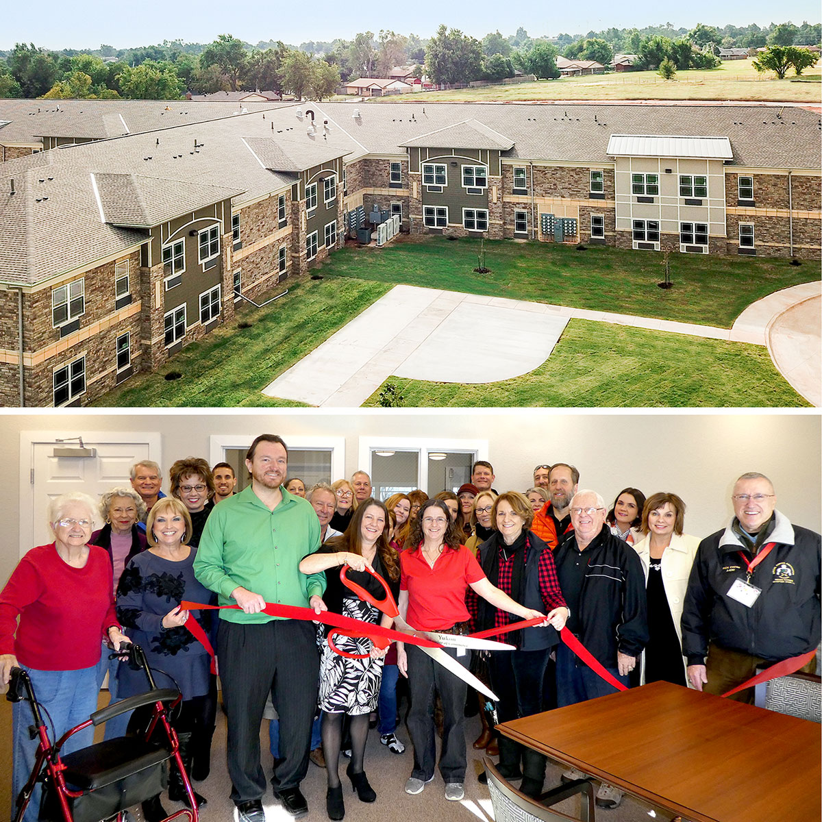 GRAND OPENING: THE RESIDENCE AT YUKON HILLS APARTMENTS